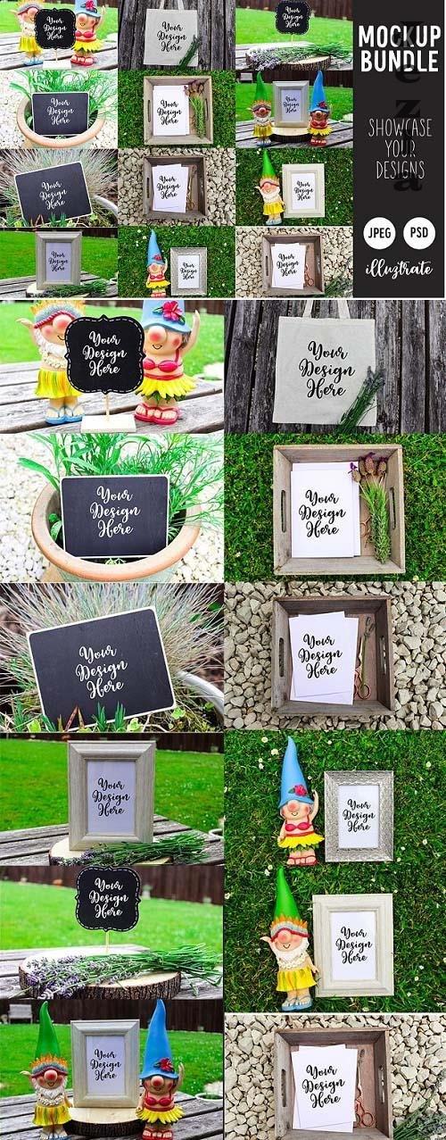 Garden Mockup Bundle | Outdoor - 6249436