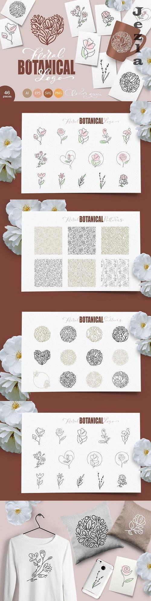 Floral Botanical Logo - 6255562