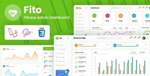 ThemeForest - Fito v1.0 - Fitness Laravel Admin Dashboard - 29631483