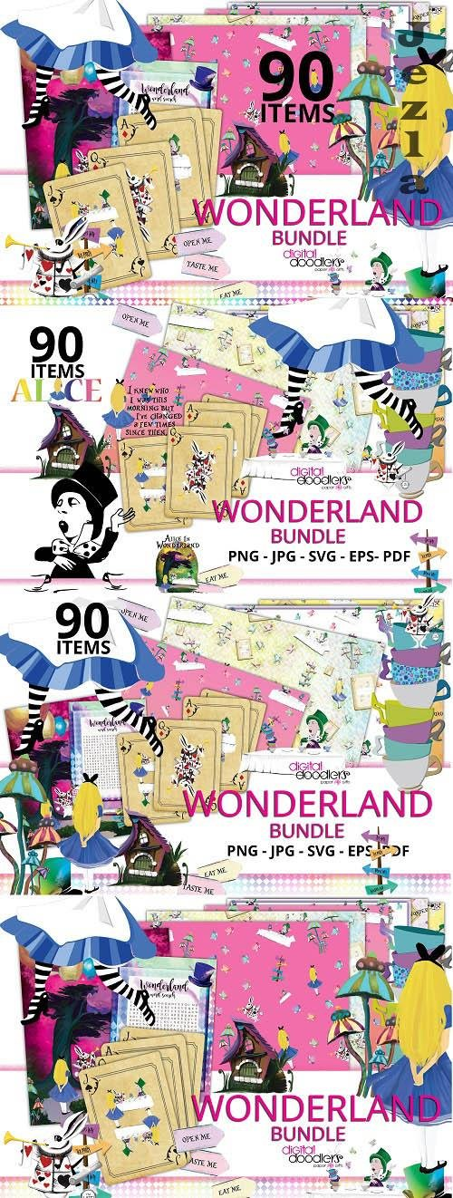 Wonderland Bundle - 112579 (Alice in Wonderland)