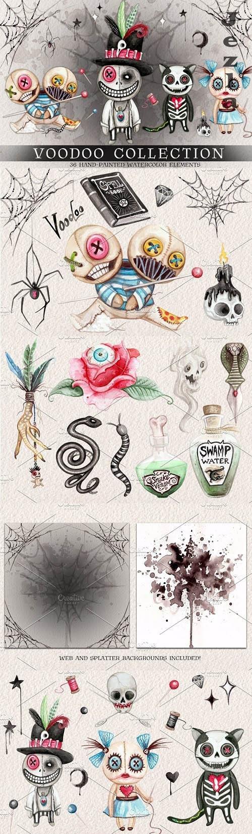 Watercolor Voodoo Collection - 4078139