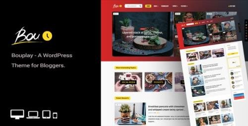 ThemeForest - Bouplay WP v2.5 - A WordPress Theme for Bloggers - 22170698