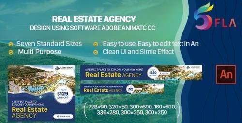 CodeCanyon - Real Estate Agency Html5 Banner Ad - Animate CC v1.0 - 32968347