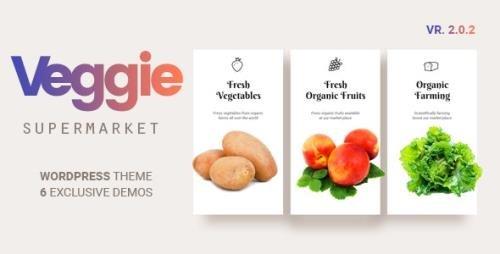 ThemeForest - Veggie v2.0.8 - Vegetable and Fruit Shop WordPress Theme - 17090245