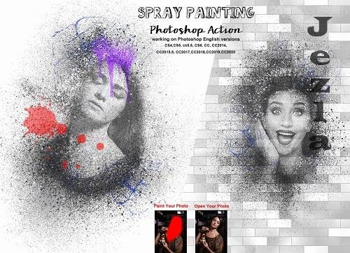 Spray Painting PHSP Action - 6246276
