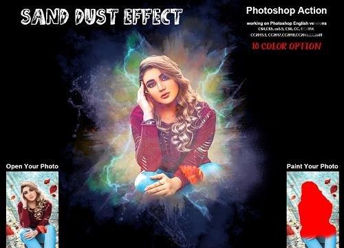 Sand Dust Effect PHSP Action - 6260070
