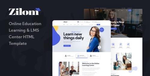 ThemeForest - Zilom v1.0 - Online Education Learning HTML Template - 32635471