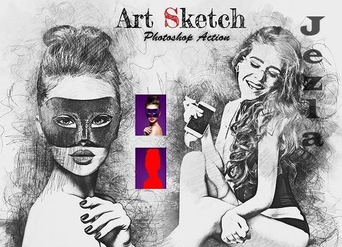 Art Sketch PHSP Action - 6279437