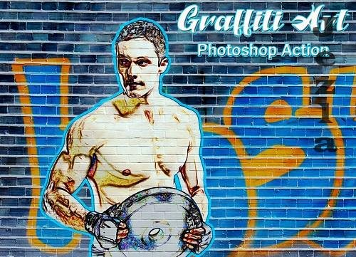 Graffiti Art PHSP Action - 4751742