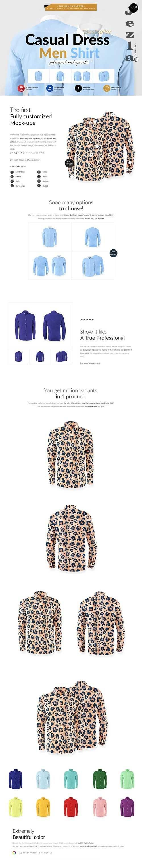 Dress Men Shirt 4x Mock-ups - 5806221