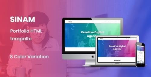 ThemeForest - Sinam v1.0 - Creative HTML5 Portfolio Template - 21730806