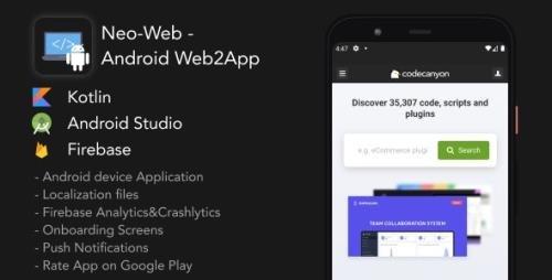 CodeCanyon - Neo-Web v1.0 - Android Web2App - 30986958
