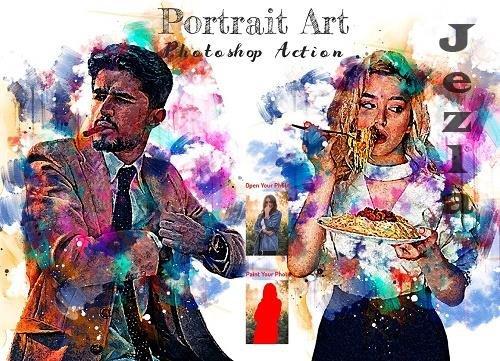 Portrait Art PHSP Action - 6363970