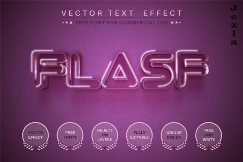 Flash - editable text effect - 6364564