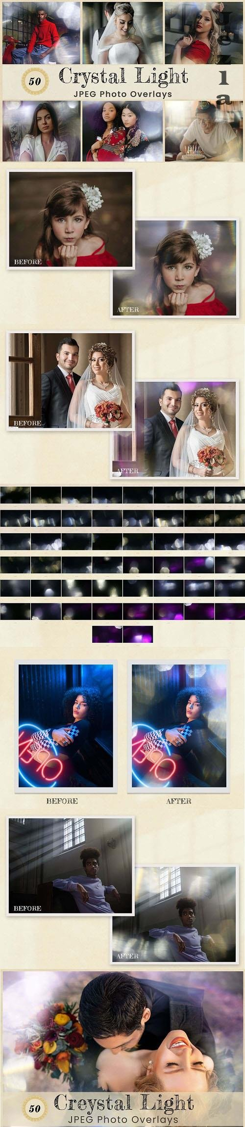 Crystal Light Photo Overlays - 6384886