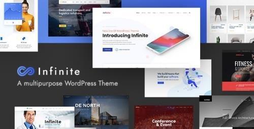 ThemeForest - Infinite v3.4.3 - Multipurpose WordPress Theme - 16869357