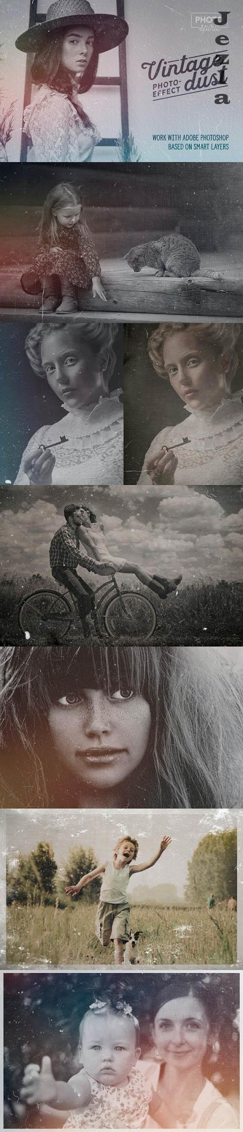 Dust And Scratches Film Effect - 25243270 - 4037958