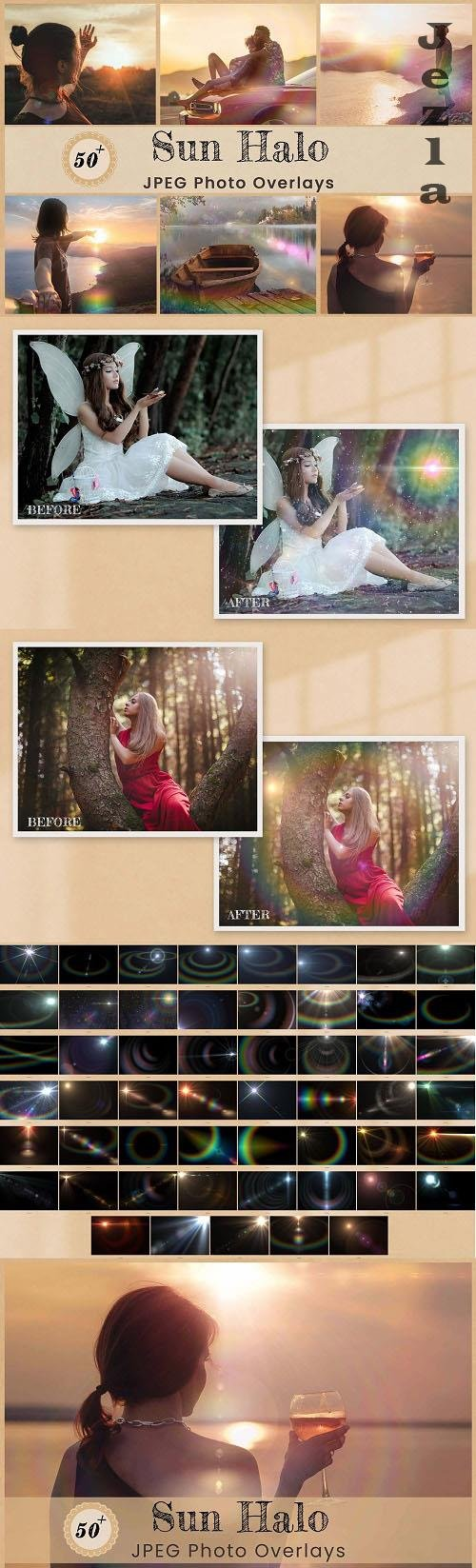 Sun Halo Photo Overlays Backdrops - 6456751
