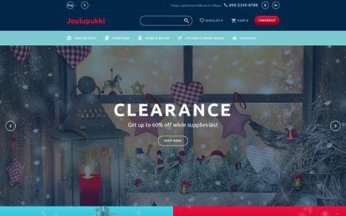 Christmas v1.0 - Responsive OpenCart Template - TM 62134