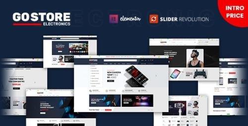 ThemeForest - GoStore v1.0.4 - Elementor WooCommerce WordPress Theme - 31294353