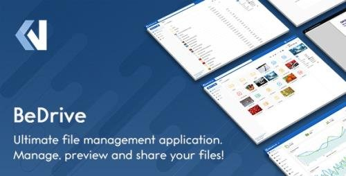 CodeCanyon - BeDrive v2.2.6 - File Sharing and Cloud Storage - 12700384