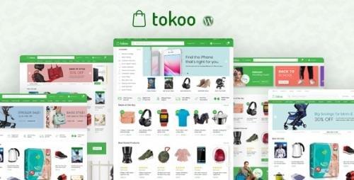 ThemeForest - Tokoo v1.1.11 - Electronics Store WooCommerce Theme for Affiliates, Dropship and Multi-vendor Websites - 22359036