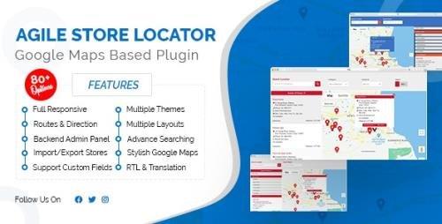 CodeCanyon - Store Locator (Google Maps) For WordPress v4.6.36 - 16973546 -