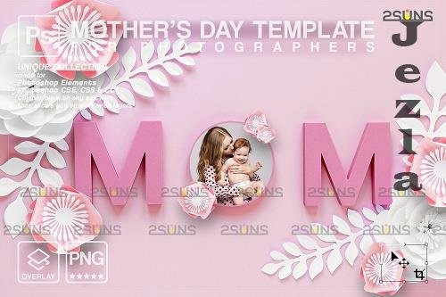 Mother's Day Digital PHSP Template - 1447822