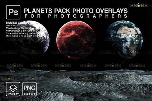 Planets PHSP overlay png Space clipart, Night sky - 1447903