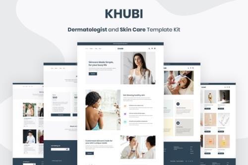 ThemeForest - Khubi v1.0.1 - Dermatologist & Skin Care Template Kit - 25875837