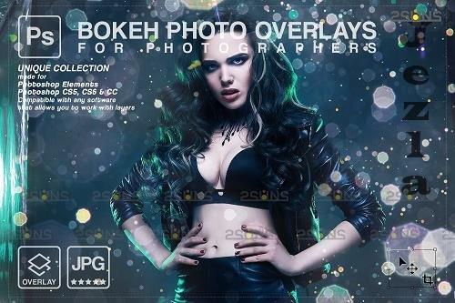 Lens flare overlay, Sun light effect, Sun overlays, Bokeh lights V3 - 1447915