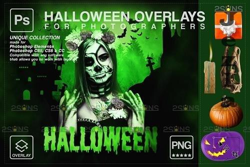 Halloween clipart Halloween overlay, Photoshop overlay - 1584061