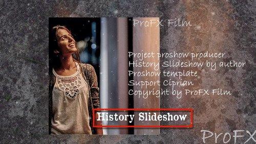 Проект ProShow Producer - History Slideshow V.02