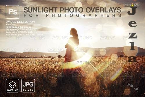 Sunlight Photo Overlays, Sunlight Overlays, Sun Flares V2 - 1583934