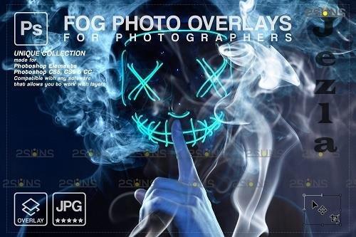 Smoke backgrounds, Fog overlays, PHSP overlay V6 - 1447932