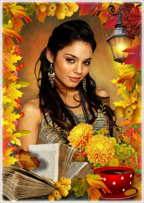 Рамка для фото - Осенние краски