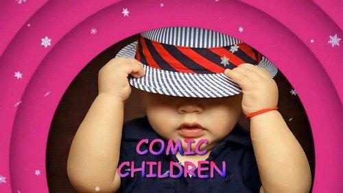 Проект ProShow Producer - Comic Children