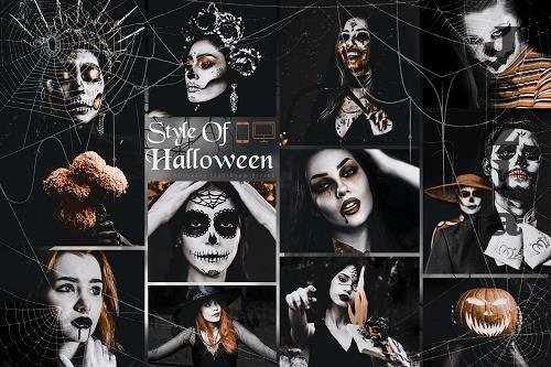 10 Style Of Halloween Mobile & Desktop LRM Presets - 1588758