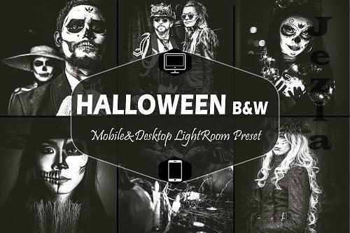 10 Halloween B&W Mobile & Desktop LRM Presets - 1590662