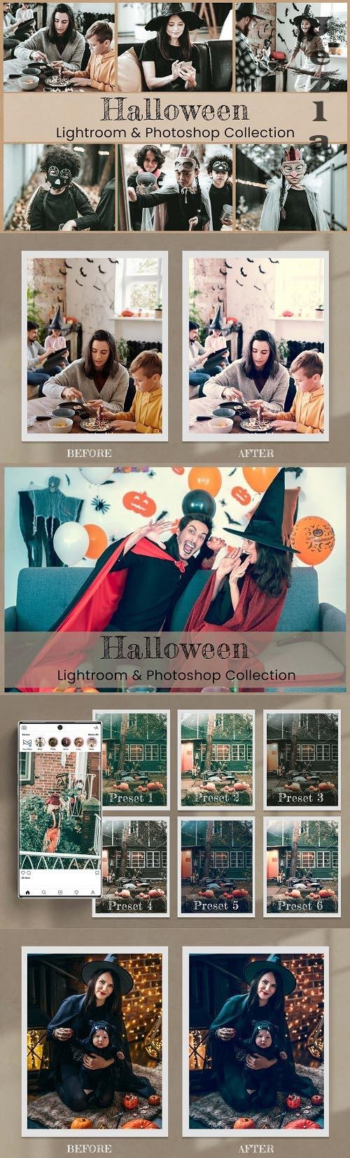 Halloween LRM PHSP LUTs - 6508456