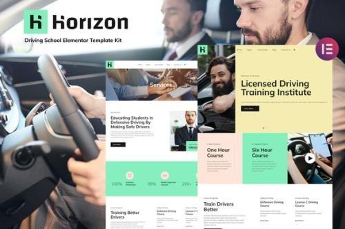 ThemeForest - Horizon v1.0.0 - Driving School Elementor Template Kit - 33831749