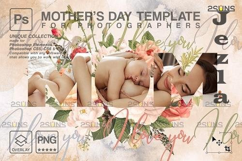 Mother's Day Digital PHSP Template V5 - 1447835