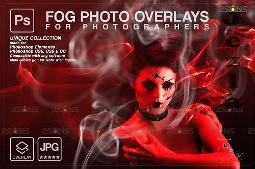 Smoke backgrounds & Smoke bomb overlay, Photoshop overlay - 1447930