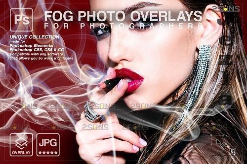 Smoke backgrounds, Fog overlays, PHSP overlay V7 - 1447933