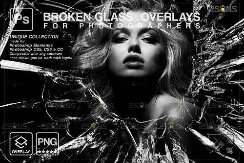 Broken Glass PHSP Overlay & Halloween PHSP overlay V4 - 1447944