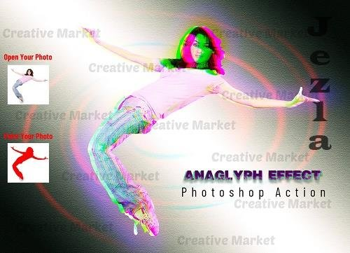 Anaglyph Effect PHSP Action - 6518920