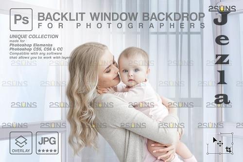 Curtain backdrop & Maternity digital photography backdrop V7 - 1447856