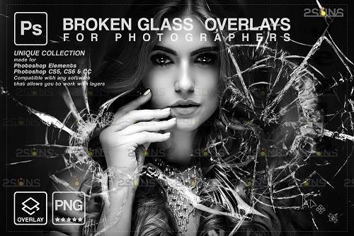 Broken Glass PHSP Overlay & Halloween PHSP overlay V5 - 1447947