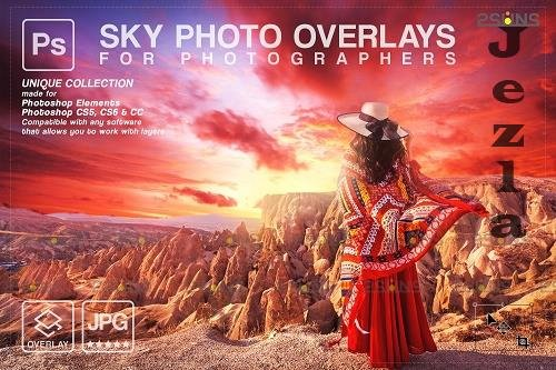 Sunset Sky Photo Overlays, PHSP V6 - 1583970