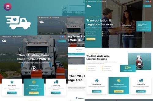 ThemeForest - Antar v1.0.0 - Transportation & Logistics Elementor Template Kit - 33862207